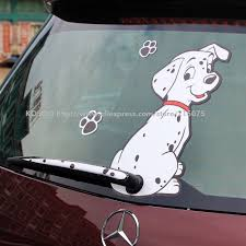 Funny Dog Moving Tail Car Sticker Cute Little Kawaii Calcomanias Para Coches Vinilos Para Autos Coches Personalizados