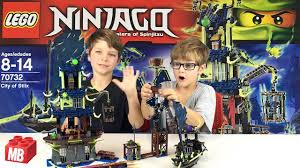 Lego NINJAGO City of Stiix Unbox Build Review PLAY #70732 KIDS TOY - YouTube