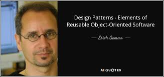 erich gamma quote design patterns elements of reusable object