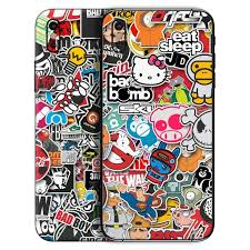 Sticker Bomb Skin For Iphone