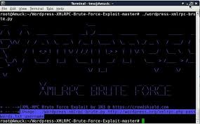 wordpress by exploiting xml rpc