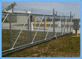 Hot Dipped Galvanized Chain Link Fence Slats Panels Heavy Duty Sliding Gates 5 Foot For Sale Chain Link Fence Fabric Manufacturer From China 107830254
