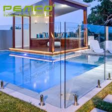 Customized Clear Design Large Size Swimming Pool Frameless Tempered Glass Pool Fence Panels Buy Tempered Glass Pool Fence Panels Glass Fence Glass Pool Fence Product On Alibaba Com