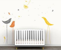 Carnival Birds Wall Decal Collection Littlelion Studio