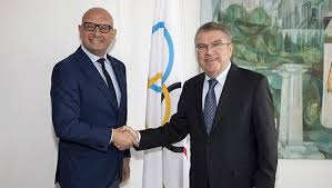 IOC President Bach meets IBSF President Ivo Ferriani - Official Website of  the Chinese Olympic Committee
