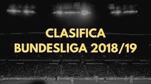 Classifica della Bundesliga 2018-2019 Con Riassunto della Stagione