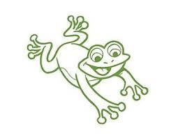 Cute Frog Vinyl Window Decal Lime Green 4 5x5 Car Van Fun Smile Happy Toad Ebay