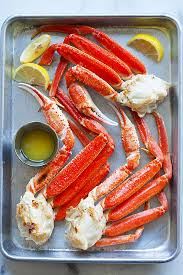 snow crab broiled with er and