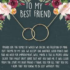 friendship quotes best friends necklace dear ava jewelry