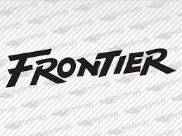 Nissan Frontier Logo Decal Stickers