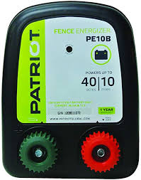Amazon Com Patriot Pe10b Battery Fence Energizer 0 30 Joule Pet Supplies