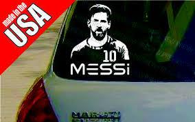 Lionel Messi Barcelona Fcb Football Soccer Cool Decal Car Window Bumper Sticker 5 99 Picclick