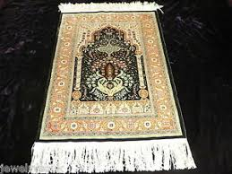 turkish hereke or kayseri silk rug