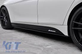 Side Decals Sticker Vinyl Matte Black Suitable For Bmw F30 F31 3 Series 2011 Up M Performance Design Carpartstuning Com