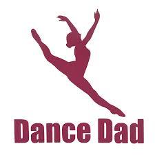 Amazon Com Custom Dance Dad Vinyl Decal Dance Bumper Sticker Tumbler Window Laptop Cup Auto Decal Dancer Or Dance Instructor Coach Gift Handmade