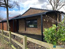 Contemporary Wall Attached Carport Installed In Cheshire Kappion Carports Canopies