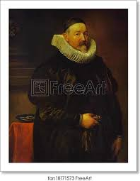 Free art print of Portrait of Adrian Stevens by Sir Anthony Van Dyck. 1629.  Oil on canvas. The Pushkin Museum of Fine Arts, Moscow, Russia.   FreeArt    fan18171573