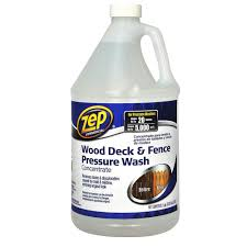 128 Oz Deck And Fence Cleaner Case Of 4 Pressure Washing Wood Deck Deck
