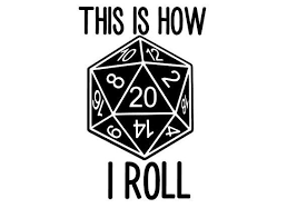 D20 Dice This Is How I Roll D Amp D Vinyl Decal Yeti By Personily Retro Graphics Rpg Dungeons And Dragons