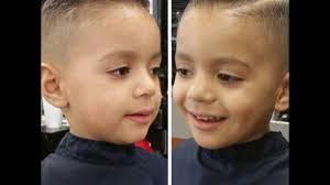 قصات شعر 2018 قصير للأطفال