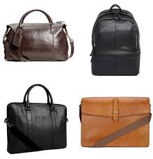 men make with their bags