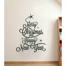 Happy New Year Wall Lettering Sticker Vinyl Word Decal