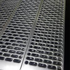 China Galvanized Perforated Metal Cladding Mesh Sheet Manufacturers And Suppliers Fuhai