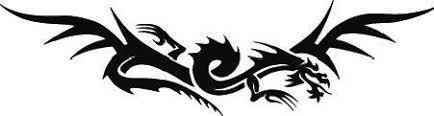 Tribal Dragon Decal Sticker Windshield Car Tattoo Ebay