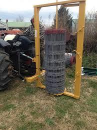 Woven Wire Fence Unroller Farmall Cub