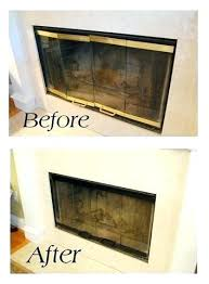 how to install fireplace doors