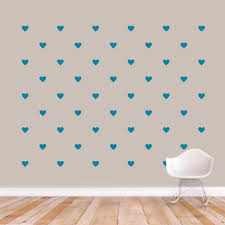 Hearts Wall Decals Wall Decor Stickers