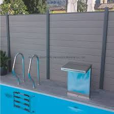 China Outdoor Retractable Wpc Composite Wood Fence Panel Garden Strong Plastic Panels Boards Fencing Trellis Gates China Fencing Trellis Gates And Wood Plastic Composite Fence Price