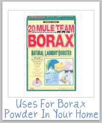 borax powder for cleaning laundry