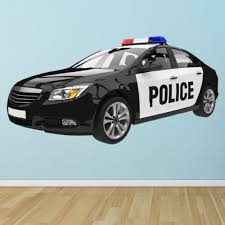 Police Car Emergency Vehicle Wall Decal Sticker Ws 47517 Buy Products Online With Ubuy Costa Rica In Affordable Prices 223583731233