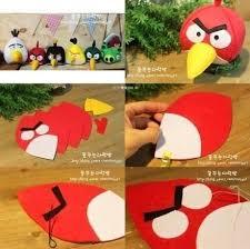 diy angry bird plush toys