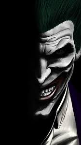 wallpaper joker dark dc ics