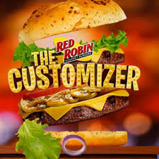 red robin lets you customize your menu