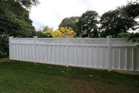 Shadow Box Lattice Top Privacy Fence
