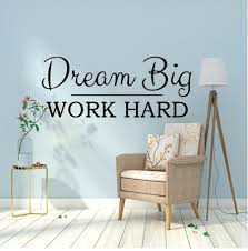 Dream Big Work Hard Office Decals Phrase Vinyl Wall Sticker For Office Room Wall Decor Quote Wallpaper Vinilo Decorativo Fraae Cheap Wall Decal Cheap Wall Decals From Onlinegame 9 86 Dhgate Com