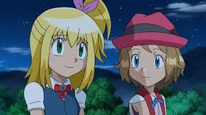 Pokemon XY OC - Elisa and Serena in night by Aquamimi123 on DeviantArt