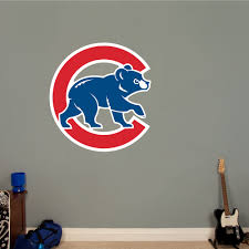 Chicago Cubs Alternate Logo Chicago Cubs Mlb Boy Sports Bedroom Sports Wall Decals Chicago Cubs