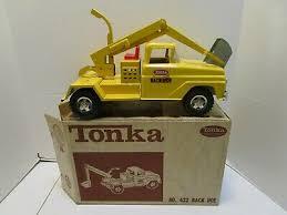 Tonka Truck Back Hoe Truck 1963 422 Decal Set