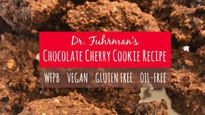 dr fuhrman s chocolate cherry cookie