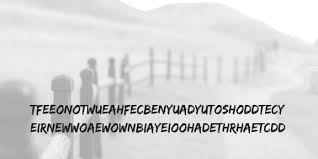 Mw S Codes Ciphers And Puzzle Series The Rail Fence Cipher Mysterious Writings