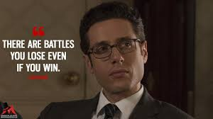 there are battles you lose even if you win magicalquote