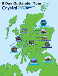 8 day outlander tour of scotland