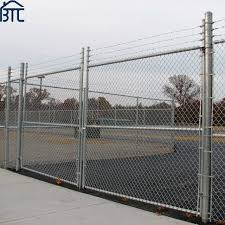 China Factory Wholesales High Quality Galvanized Chain Link Fence China Chain Link Fence Galvanized Chain Link Fence