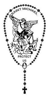 Rosary Catholic Auto Metalic Car Decal Christian Saint Michael Religious 4 3 4 Needzo Religious Gifts