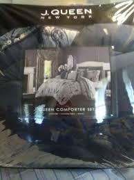 j queen new york queen comforter set