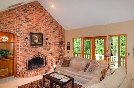 how to clean brick fireplace royal